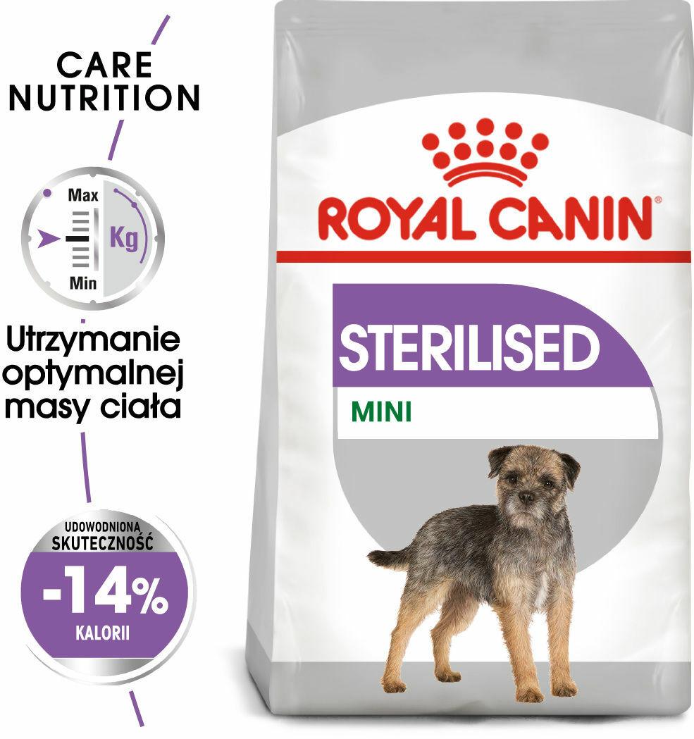 Karma dla psa po sterylizacji