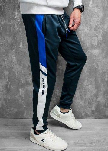 Kolorowe spodnie dresowe
