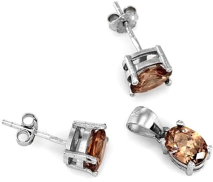 Komplety biżuterii srebrnej