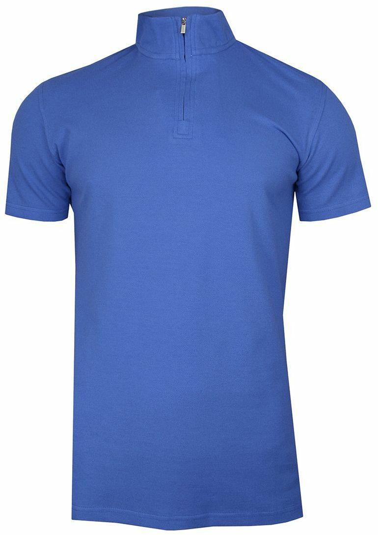 Koszulka polo ze stójką