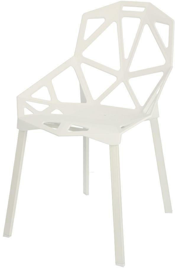 Krzesła białe lakierowane
