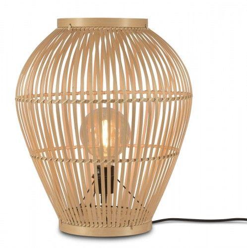 Lampa stojąca bambus