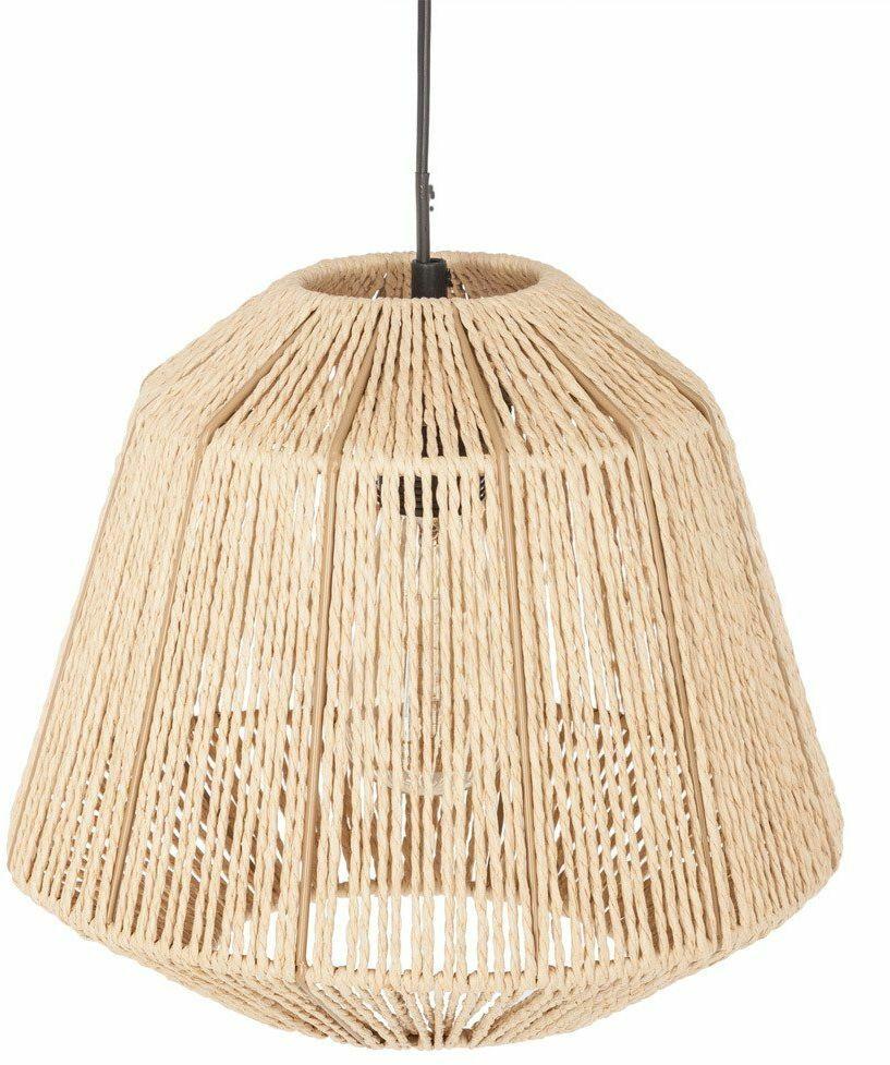 Lampa sufitowa beżowa