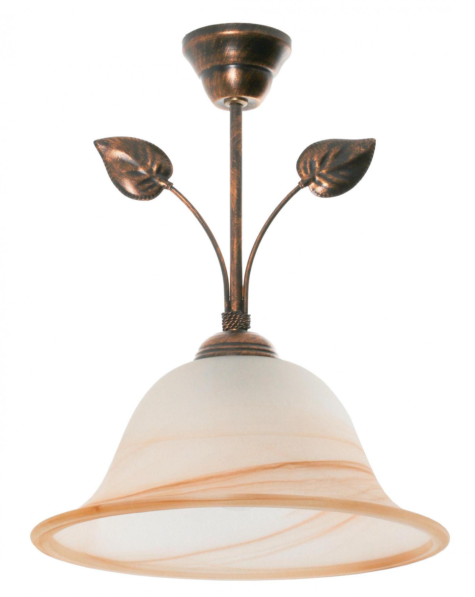 Lampa sufitowa kwiaty
