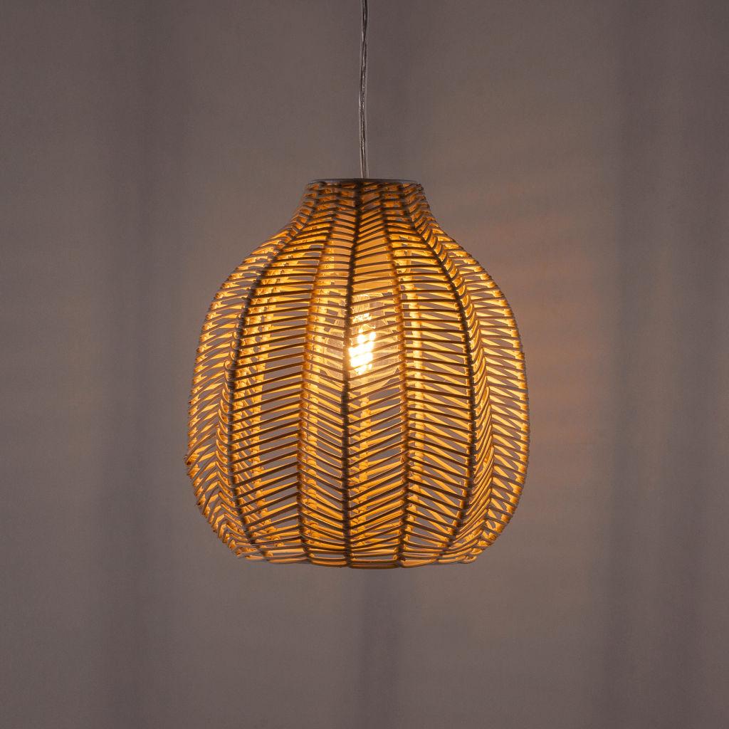 Lampa sufitowa rattan
