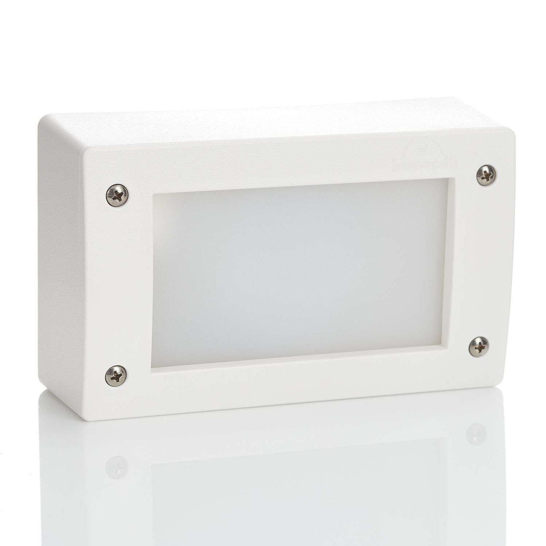 Lampa zewnętrzna biała