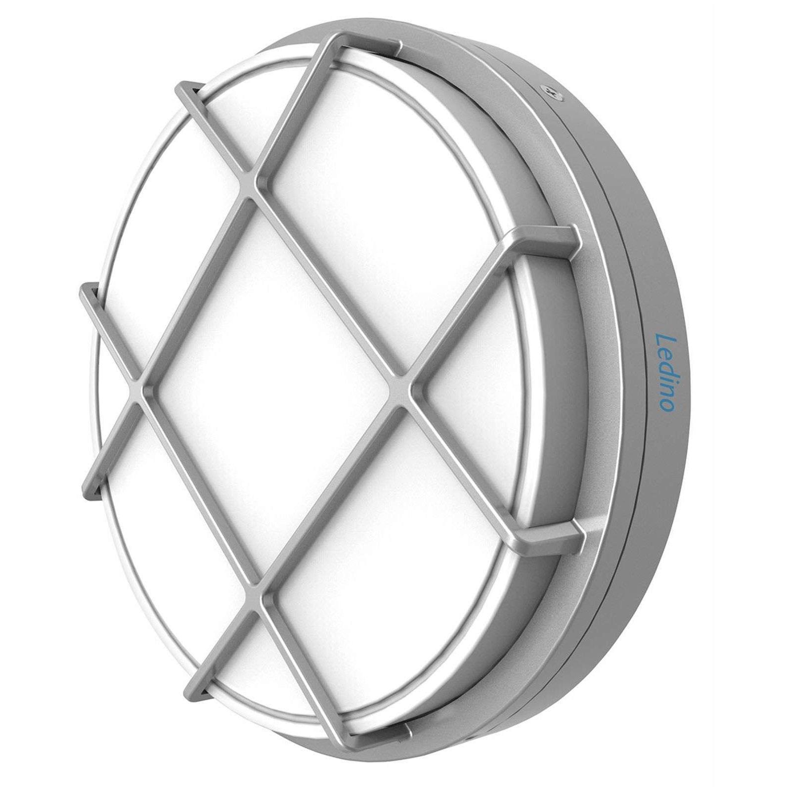Lampa zewnętrzna okrągła