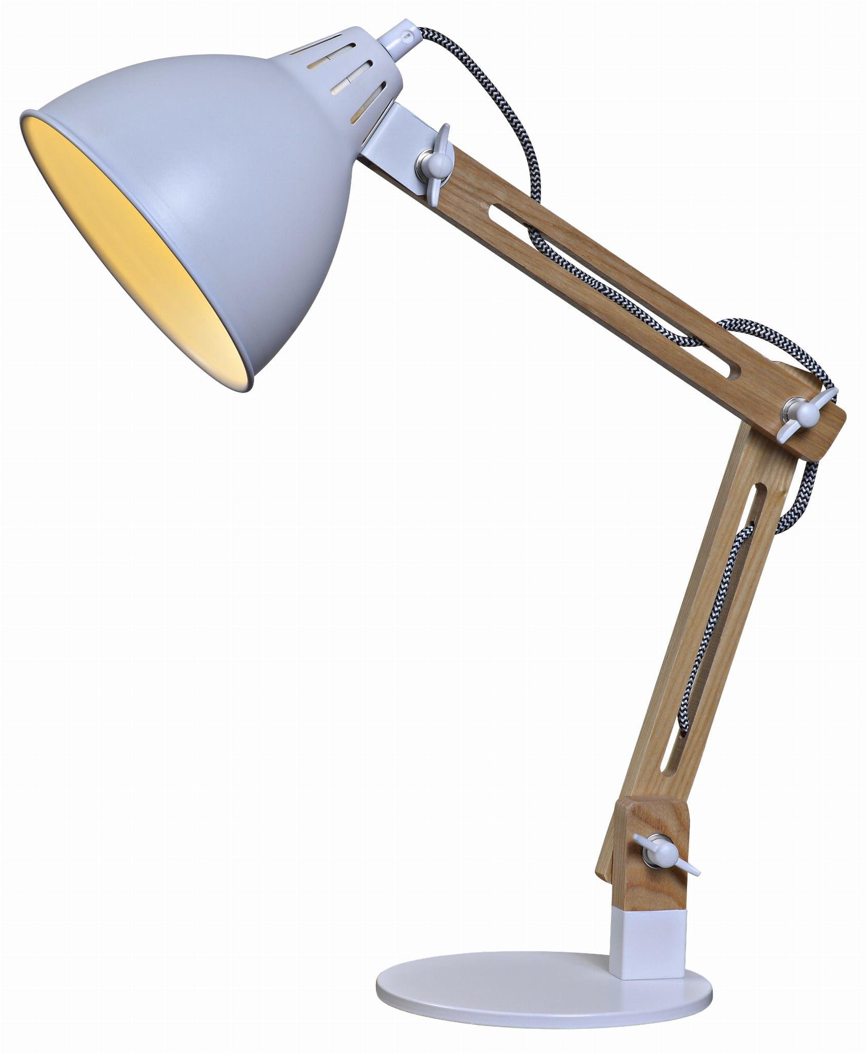 Lampka na biurko retro