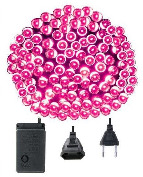 Lampki choinkowe różowe