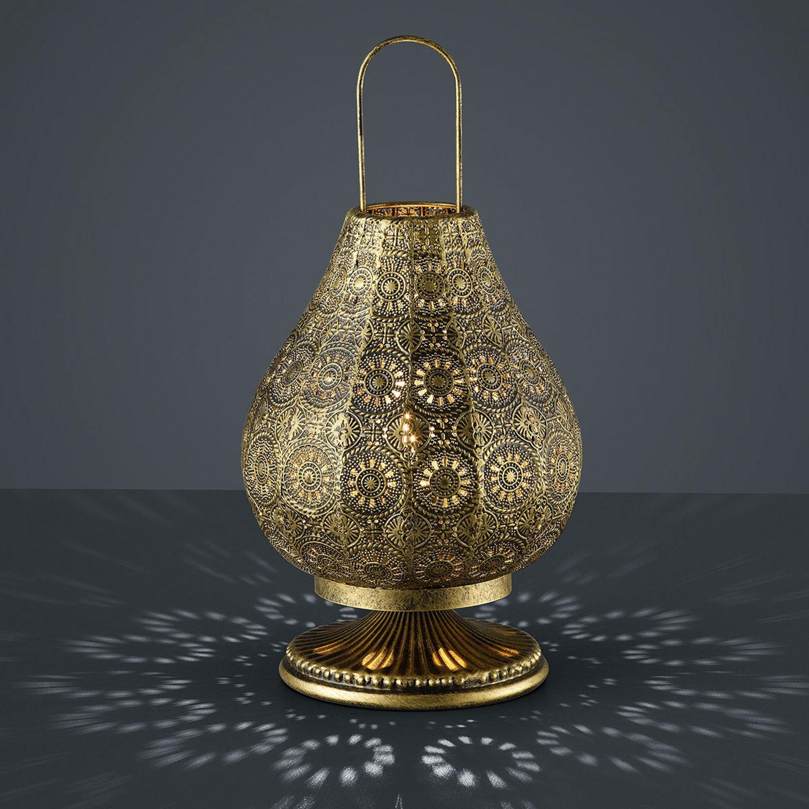 Lampy stołowe kolonialne