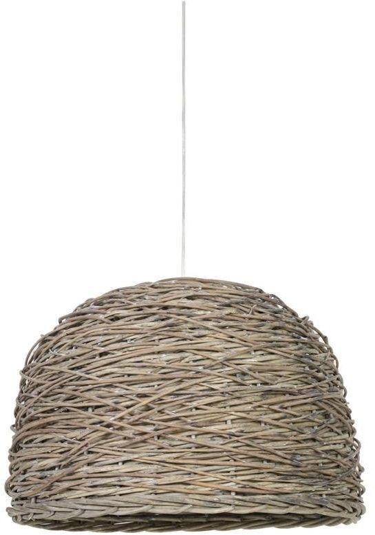 Lampy sufitowe wiklinowe