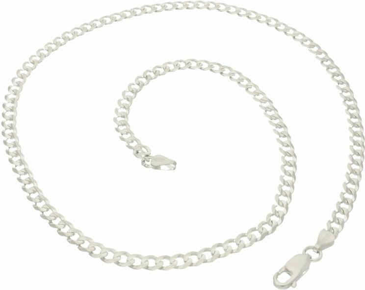 Łańcuszek męski srebrny