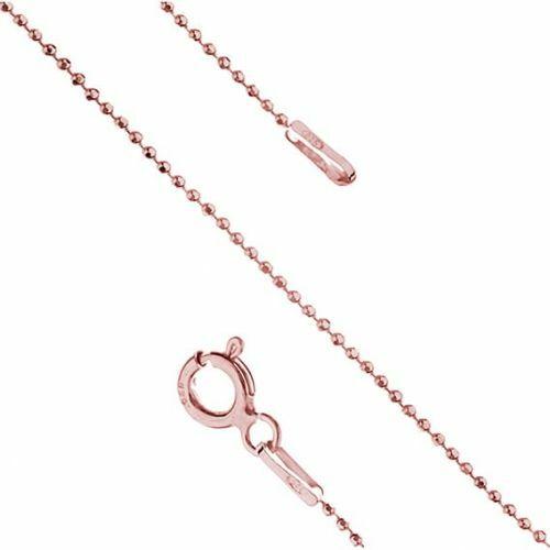 Łańcuszek z różowego złota