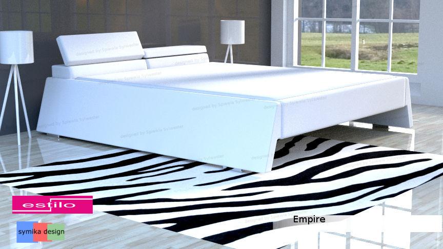 Łóżko empire