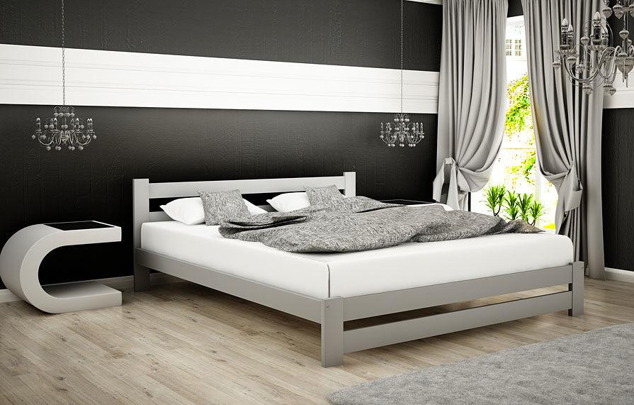 Łóżko minimalistyczne