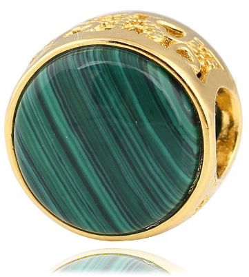 Malachit biżuteria