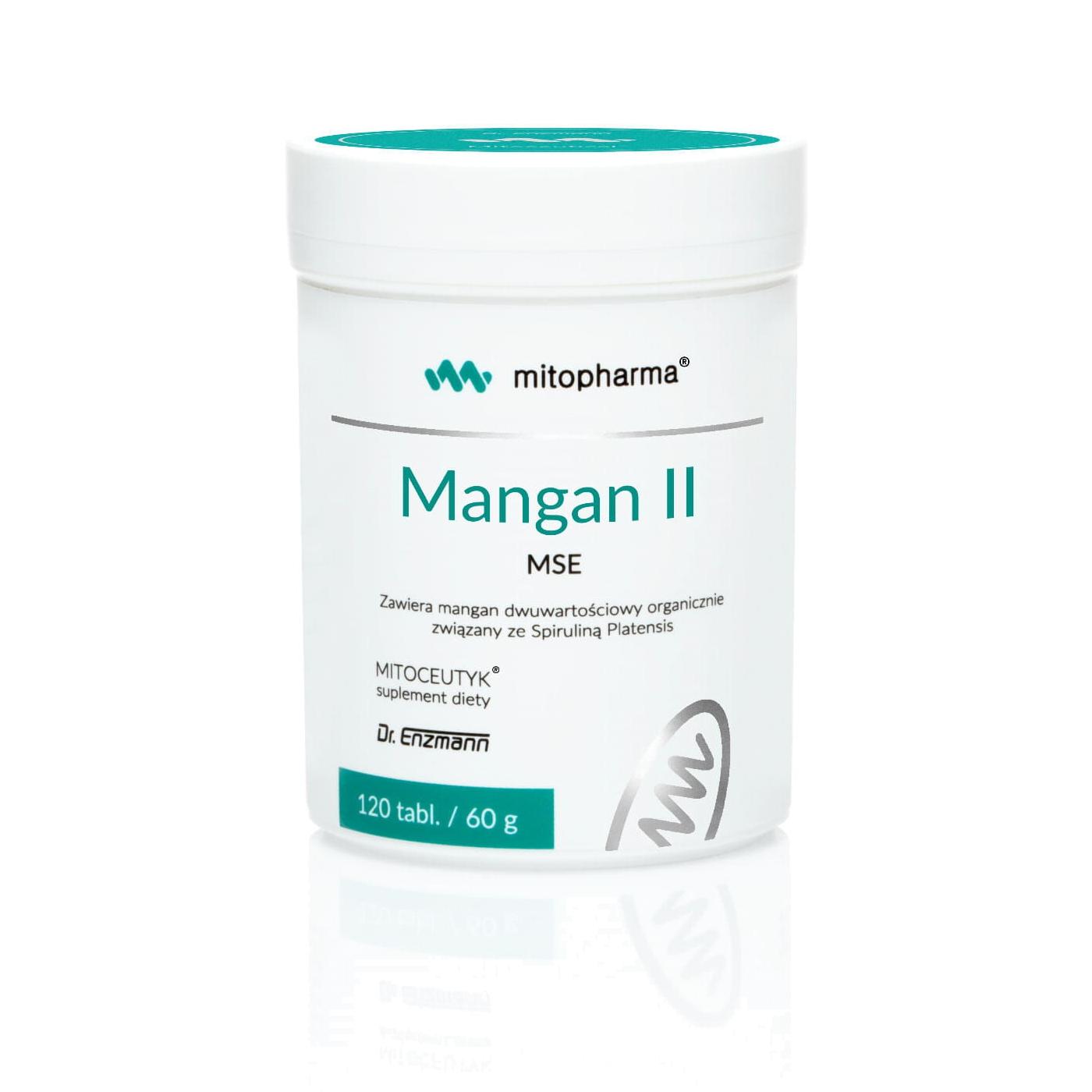 Mangan tabletki