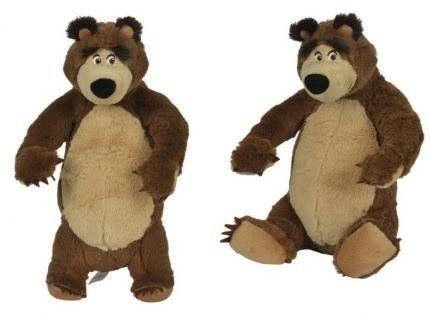 Masza i Niedźwiedź maskotki