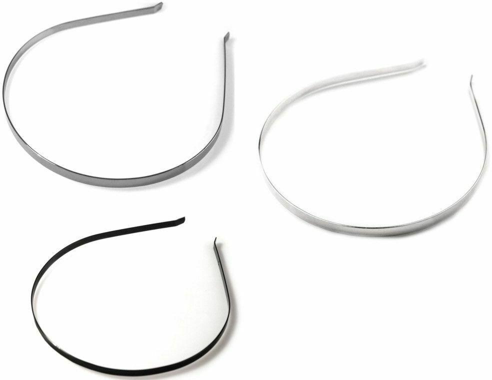 Metalowa opaska do włosów