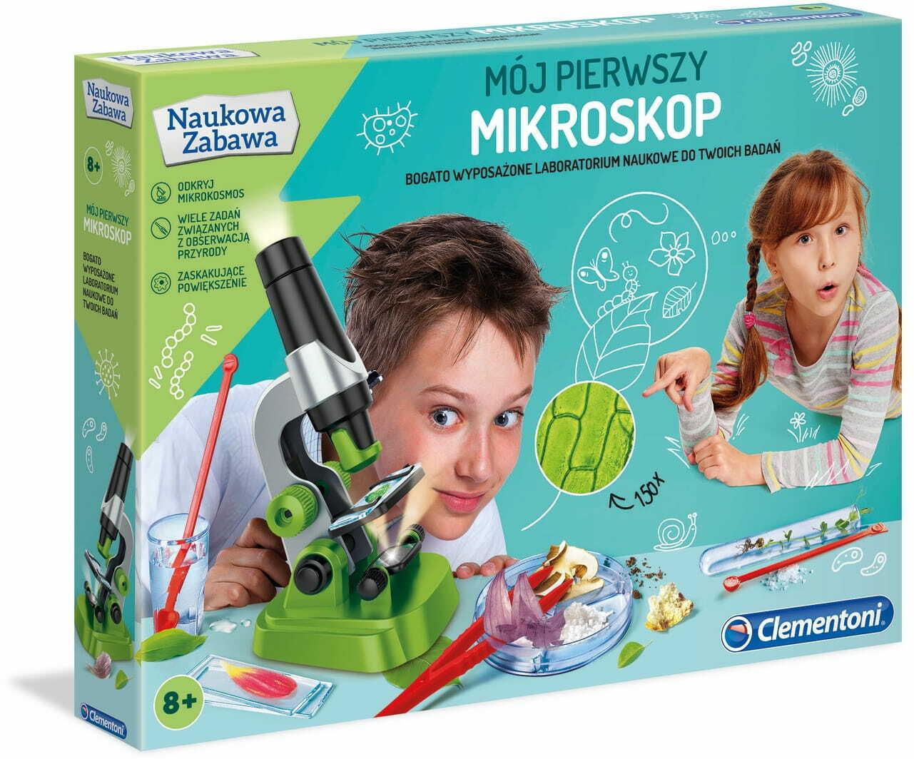 Mikroskop Clementoni