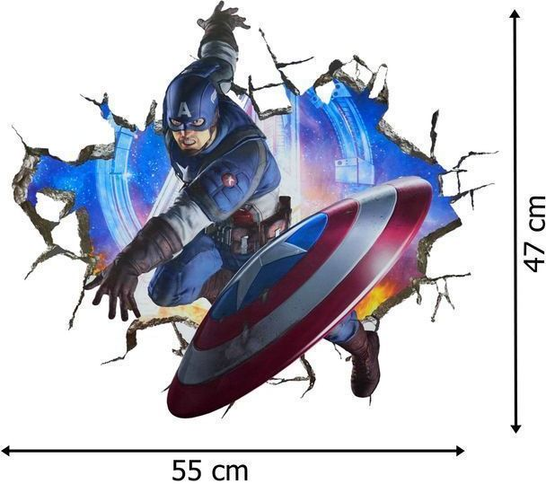 Naklejki na ścianę Avengers