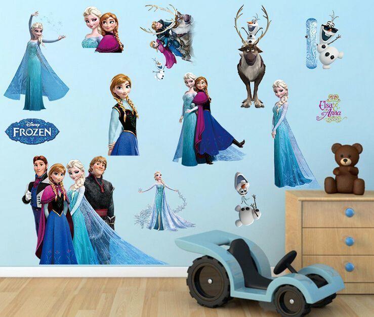 Naklejki na ścianę Elsa