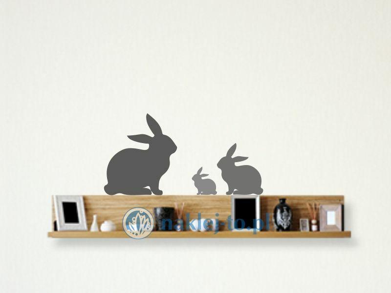 Naklejki na ścianę królik