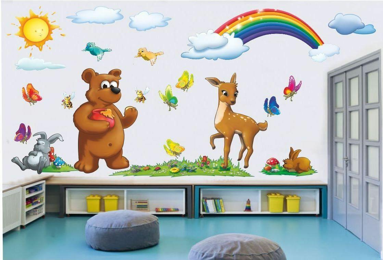 Naklejki na ścianę zwierzęta
