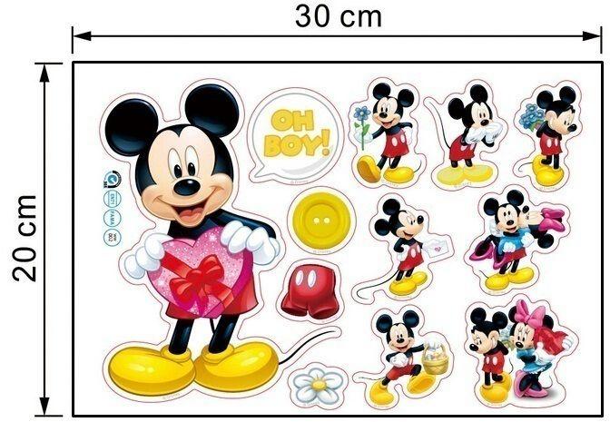 Naklejki ścienne Myszka Miki