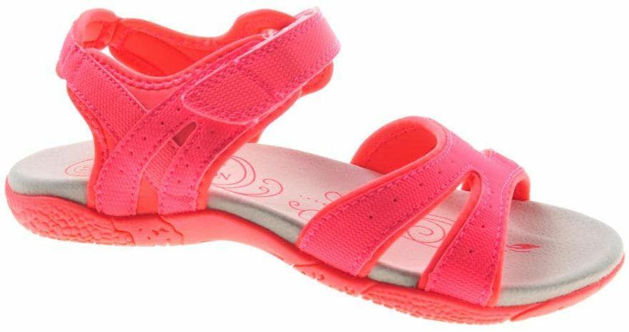 Neonowe sandały