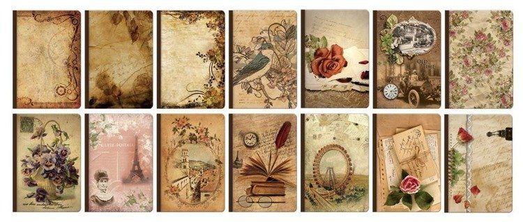 Notatnik vintage
