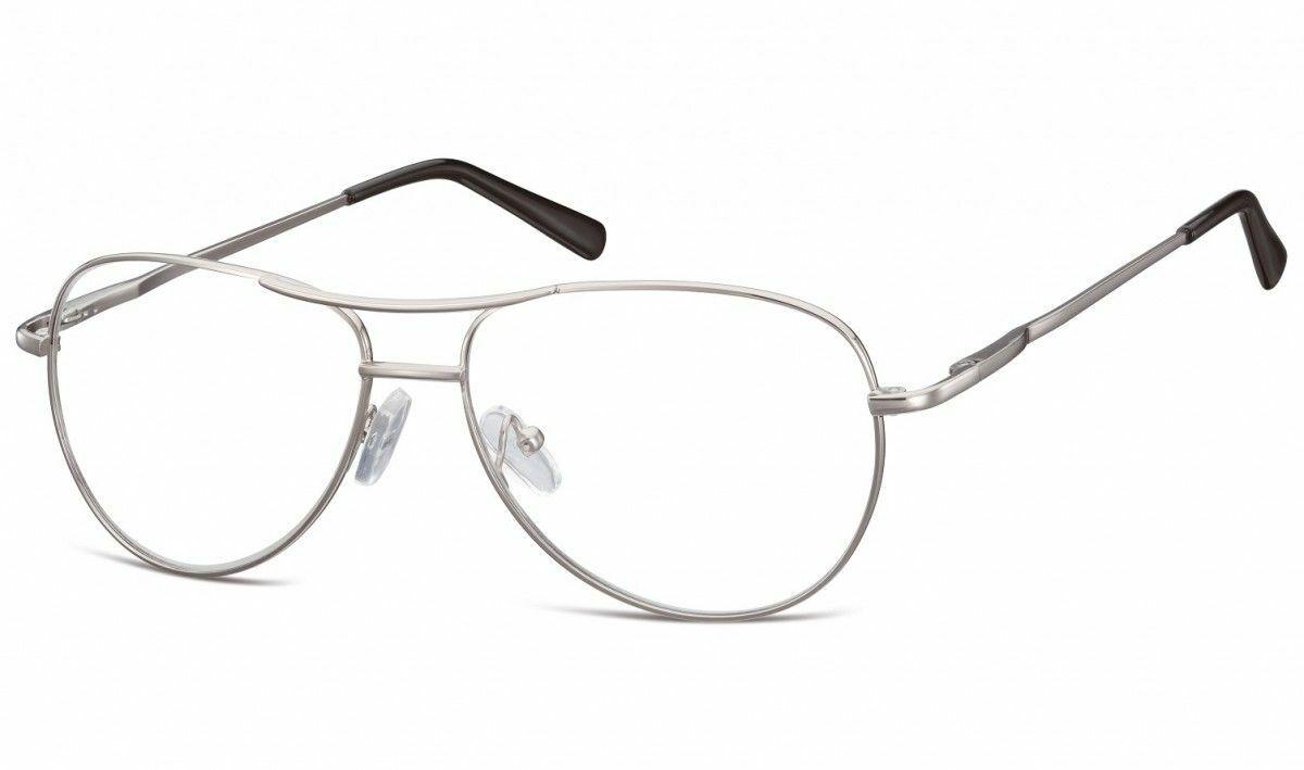 Okulary zerówki aviator