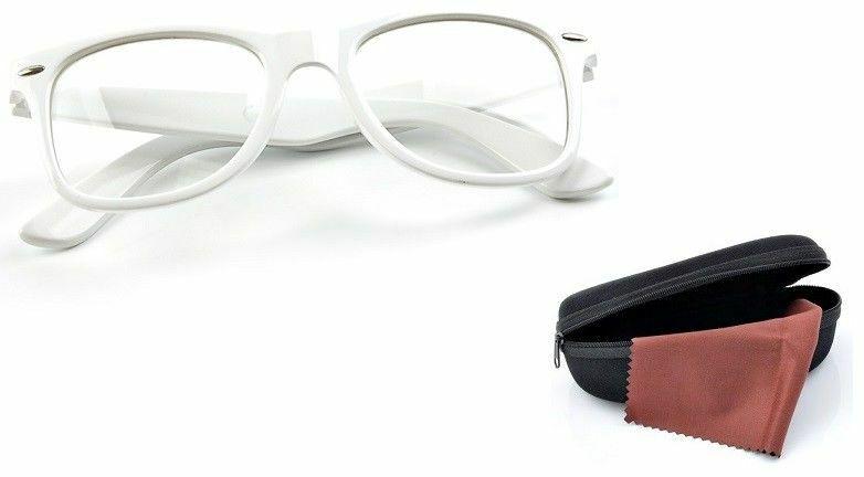 Okulary zerówki wayfarer