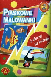 Piaskowa malowanka