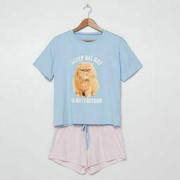 Piżama w koty