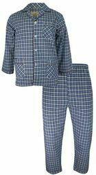 Piżama w kratę