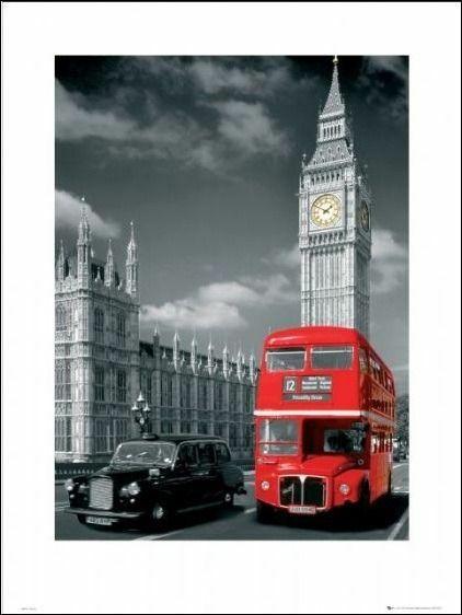 Plakaty Londyn