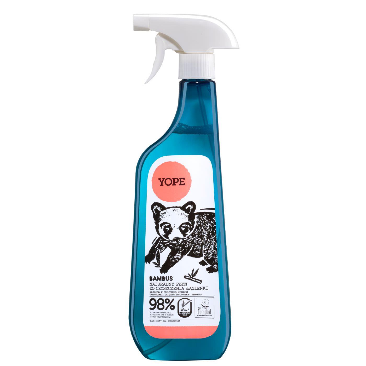 Preparaty do czyszczenia kuchni i łazienki
