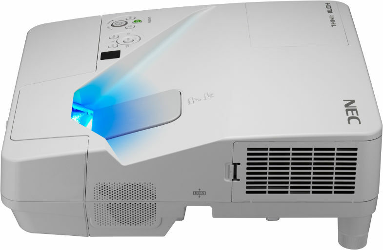Projektor krótkoogniskowy NEC