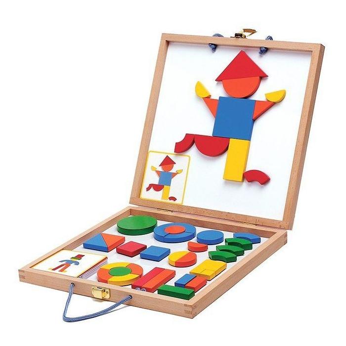 Puzzle magnetyczne