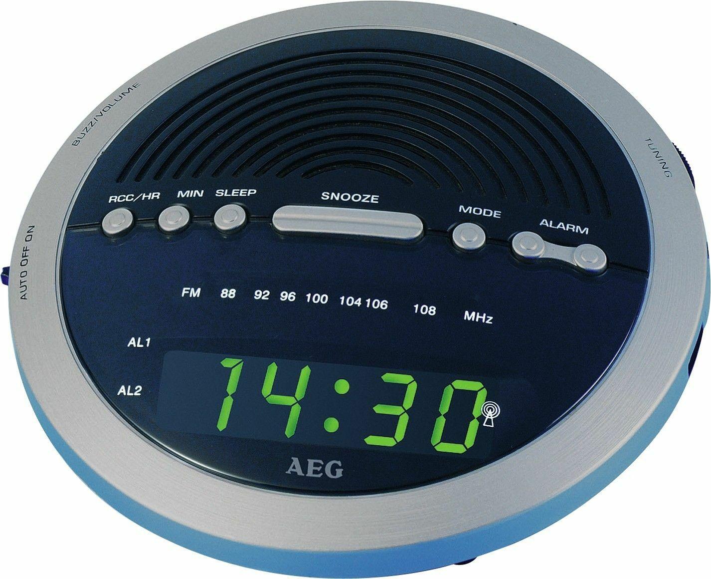 Radio budzik AEG