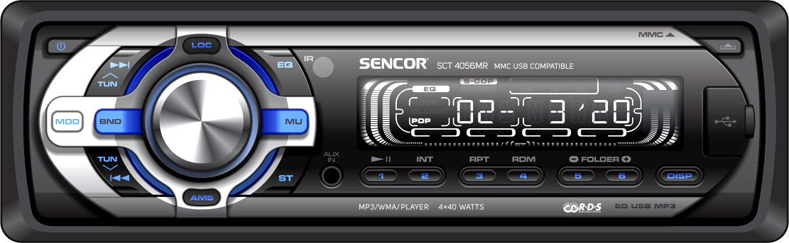 Radio samochodowe Sencor