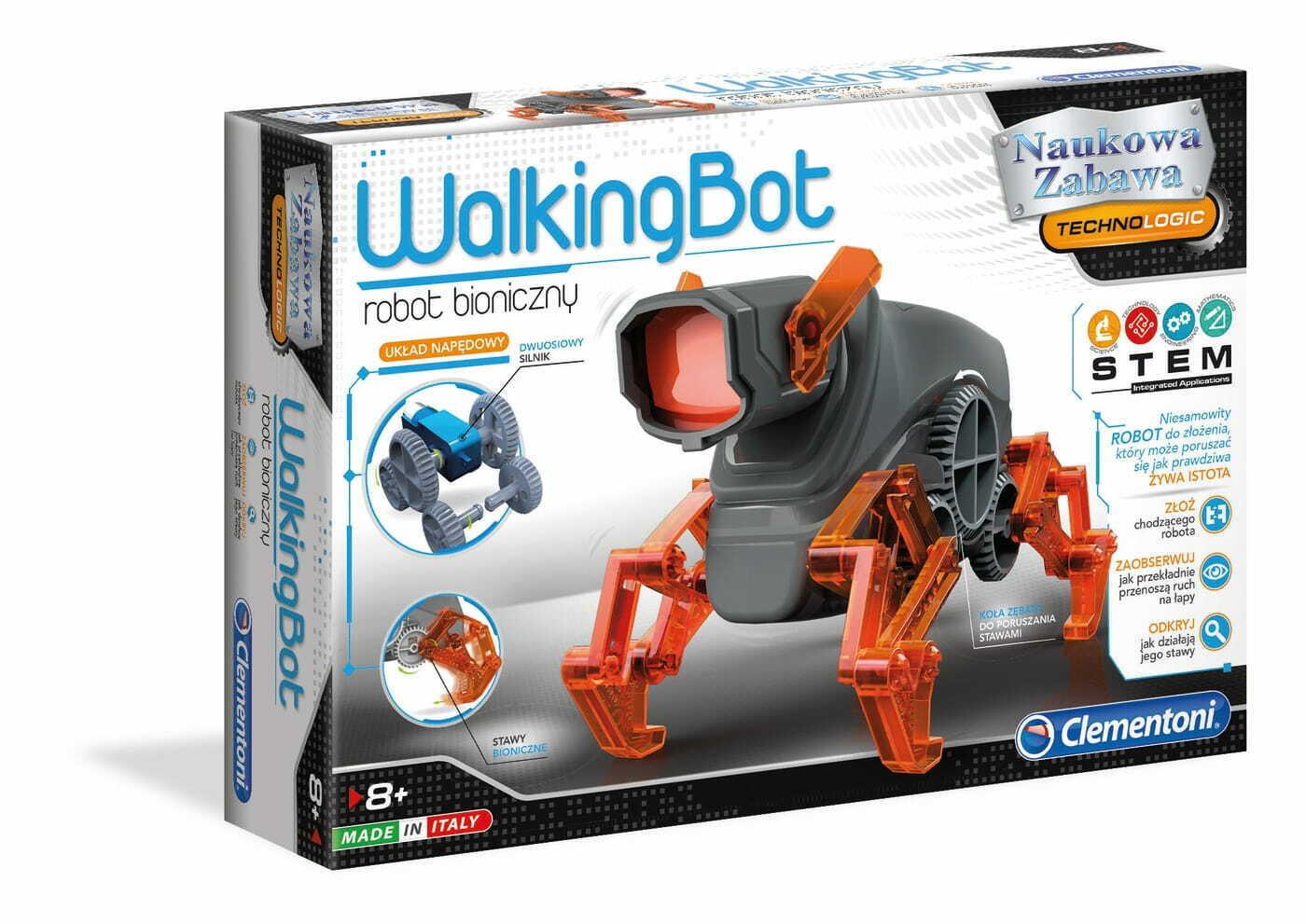 Robot zabawka Clementoni