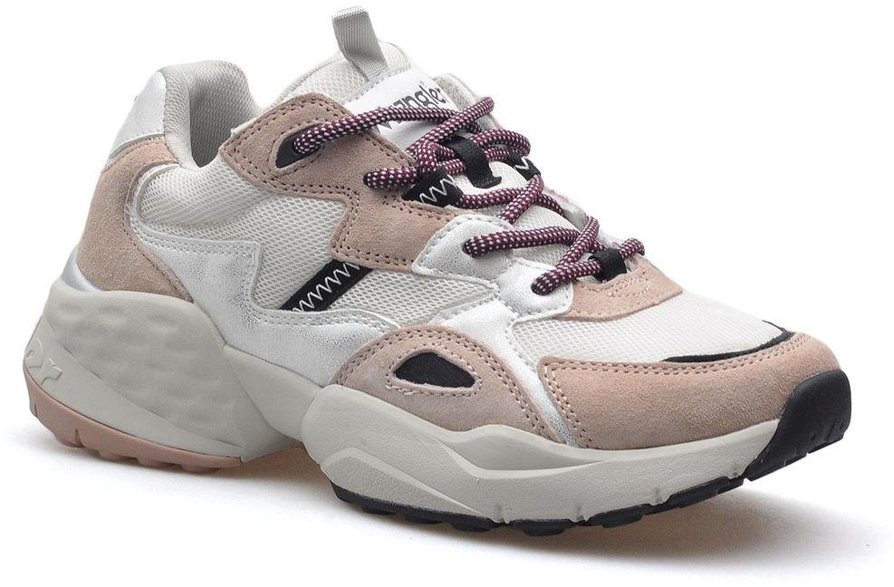 Różowe sneakersy