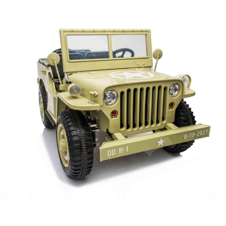 Samochód wojskowy zabawka