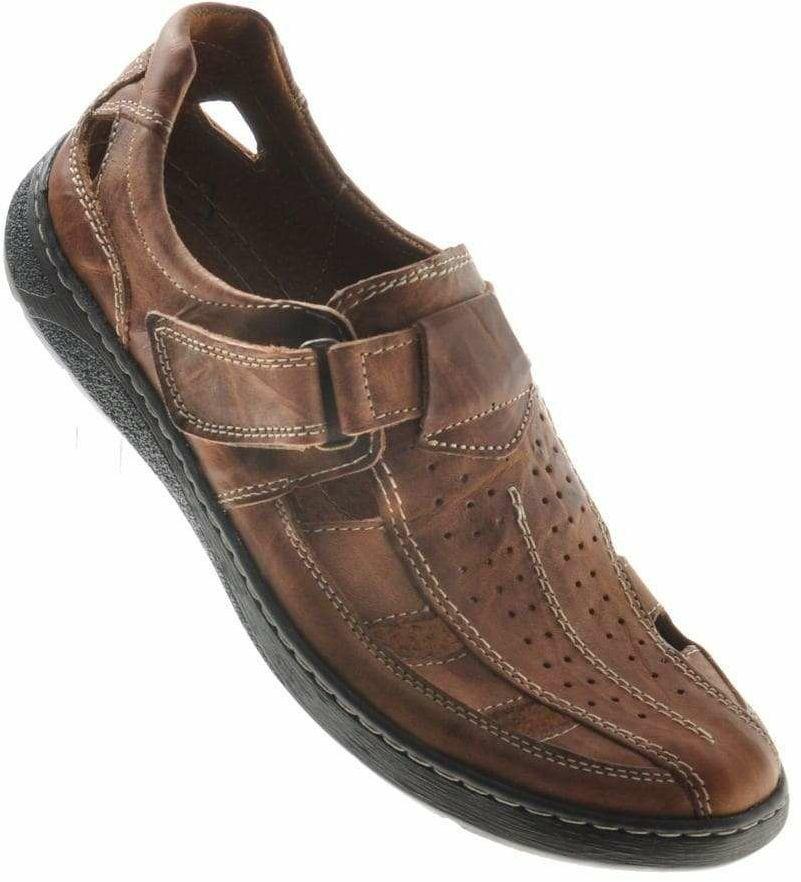 Sandały skórzane