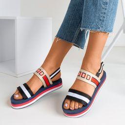 Sandały tekstylne
