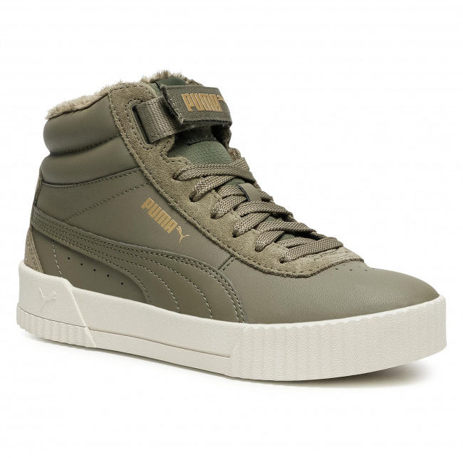 Sneakersy khaki