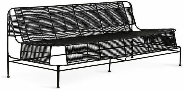 Sofa metalowa