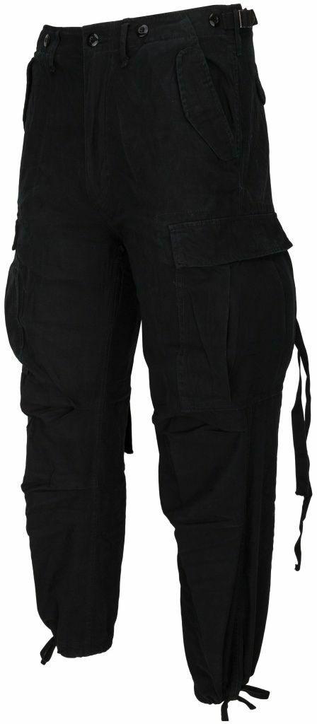 Spodnie bojówki czarne